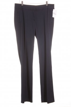 esprit collection Pleated Trousers dark blue classic style