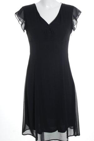 esprit collection Robe chiffon noir élégant