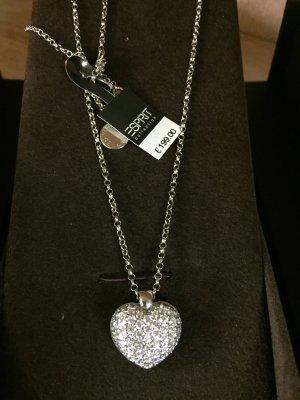 Esprit Collection  Damen Halskette 925 Sterling Silber  UVP 199€