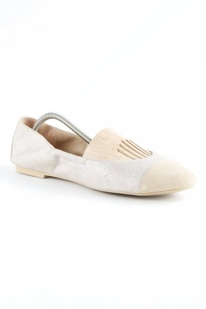 esprit collection faltbare Ballerinas mehrfarbig Glitzer-Optik