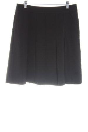 esprit collection Plooirok zwart casual uitstraling