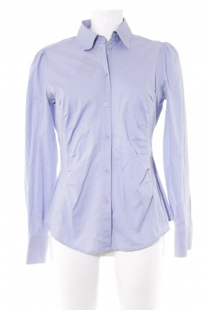 esprit collection Hemd-Bluse hellblau Business-Look