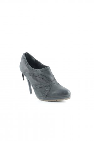 esprit collection Hochfront-Pumps schwarz Zackenmuster Party-Look