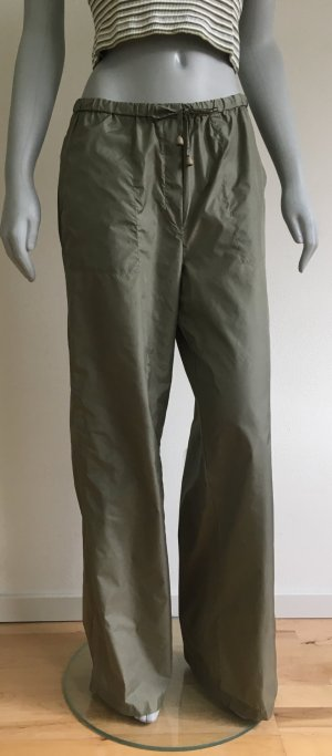 "ESPRIT collection Hose ""Donna"" Schlaghose Gr. 38 L 32 Khaki grün"