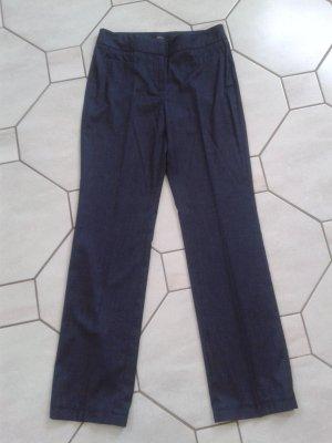 """ESPRIT Collection Hose  """"Dover"""", blau-weiß-gestreift, Gr. 34/36"""