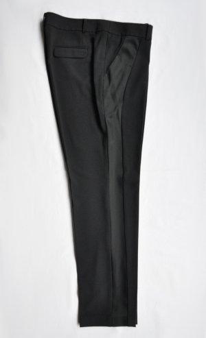 Esprit Collection Hose mit Galonstreifen Polyester Elasthan schwarz Gr. 40 113EO1B011 UNGETRAGEN
