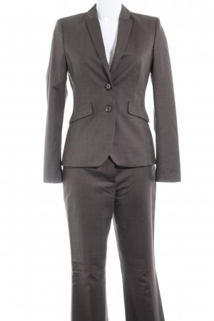 esprit collection Trouser Suit grey brown pinstripe business style