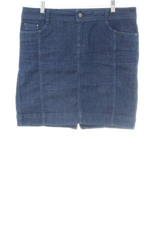 esprit collection Jeansrock blau Casual-Look