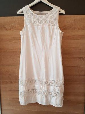 ESPRIT Collection Kleid Weiß Gr. 38