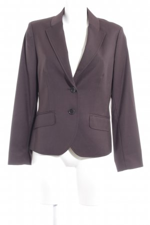 esprit collection Kurz-Blazer dunkelbraun Business-Look