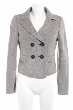 esprit collection Kurz-Blazer grafisches Muster Brit-Look