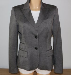 ESPRIT Collection Kurz-Blazer in Fischgrät-Muster - Gr. 36