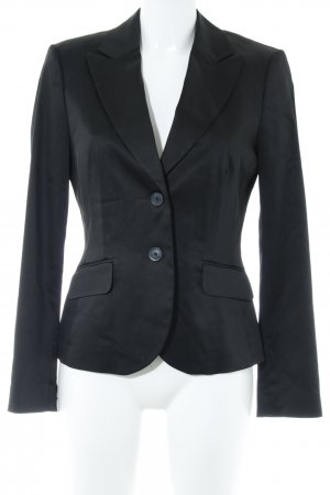 esprit collection Kurz-Blazer schwarz Business-Look