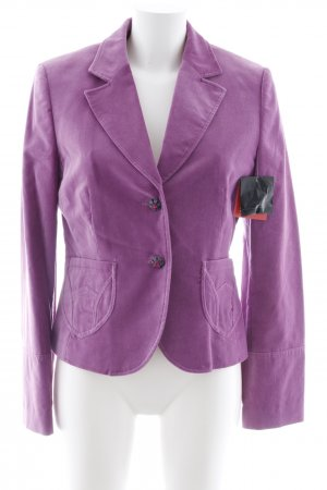 esprit collection Kurz-Blazer violett Elegant
