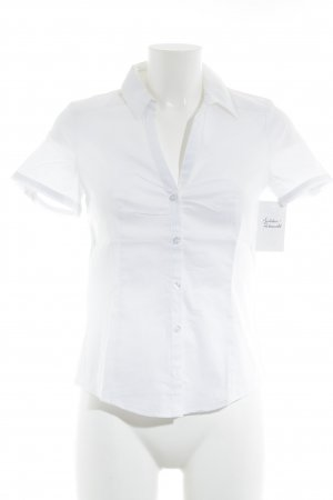 esprit collection Camisa de manga corta blanco