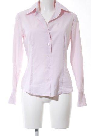 esprit collection Camisa de manga larga rosa estilo «business»