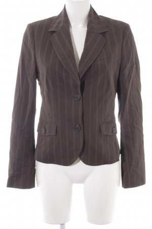 esprit collection Long-Blazer Streifenmuster Business-Look