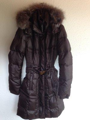Esprit Collection Mantel mit Blaufuchskragen