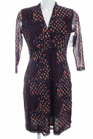 esprit collection Midi-jurk abstract patroon casual uitstraling