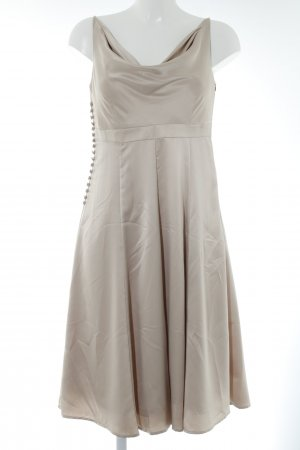 esprit collection Midi Dress cream elegant