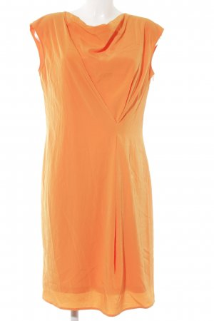esprit collection Midi Dress neon orange elegant