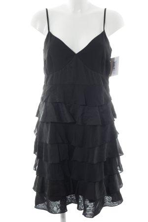 esprit collection Minikleid schwarz Elegant