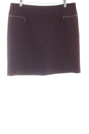 esprit collection Minirock purpur Casual-Look