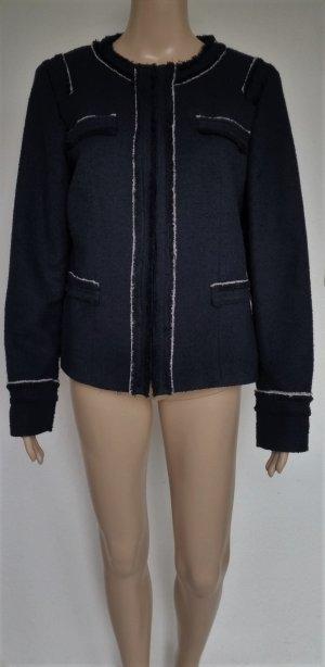 Esprit Collection Paradiso, Jacke, navy-weiß, 42, neuwertig, € 180,-