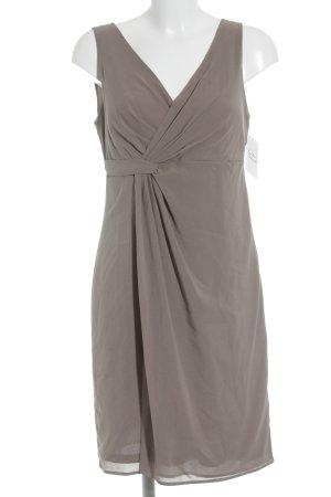 esprit collection schulterfreies Kleid graubraun Elegant