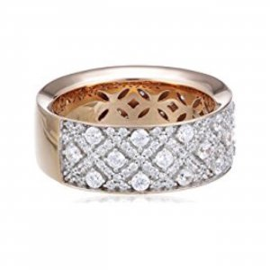 esprit collection Silver Ring rose-gold-coloured