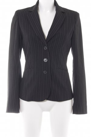 esprit collection Smoking-Blazer schwarz Nadelstreifen Business-Look