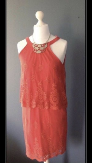 esprit collection Lace Dress red