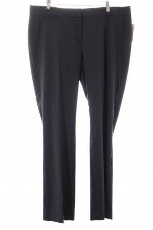 esprit collection Stoffhose dunkelgrau meliert Business-Look