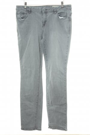 esprit collection Straight-Leg Jeans grau Casual-Look