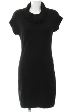 esprit collection Robe en maille tricotées noir style décontracté