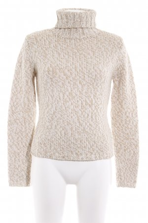 esprit collection Strickpullover hellbraun-creme Casual-Look