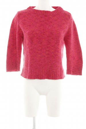 esprit collection Strickpullover pink meliert Casual-Look