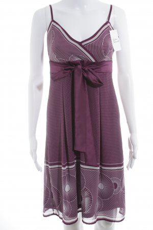 esprit collection Trägerkleid violett-altrosa Mustermix Casual-Look