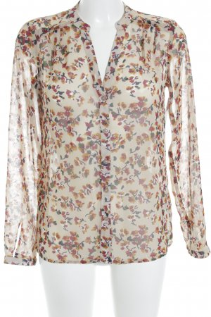 esprit collection Transparenz-Bluse mehrfarbig Elegant