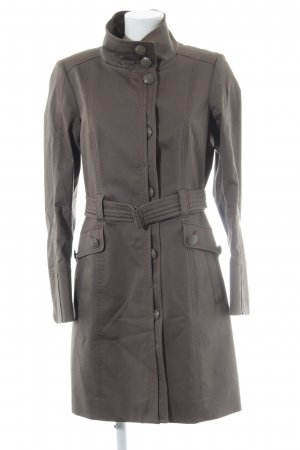 esprit collection Trenchcoat graubraun Business-Look