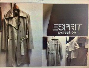Esprit Collection Trenchcoat Größe 38 in beige mit sehr schönen Details