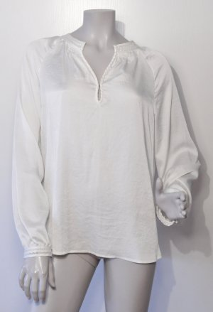 Esprit Collection Tunika-Bluse Polyester off-white Gr. 40