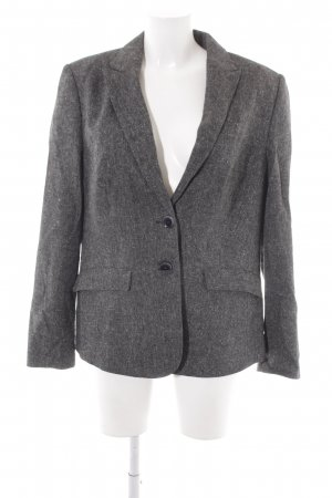 esprit collection Tweedblazer dunkelgrau Fischgrätmuster Business-Look