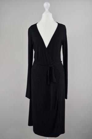 Esprit collection Wickelkleid schwarz Größe S 1707300330622