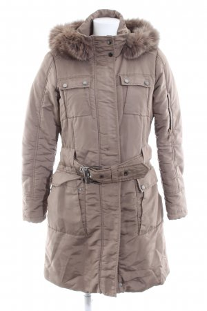 esprit collection Wintermantel wollweiß Casual-Look