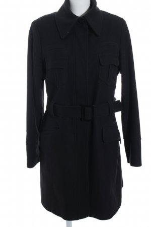 esprit collection Manteau d'hiver noir style simple