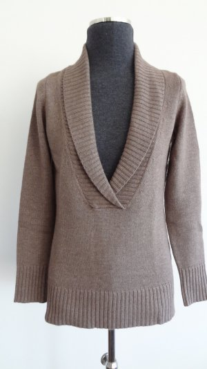 Esprit Collection Woll-Pullover mit Schalkragen, Gr. XS