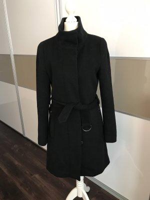 Esprit Collection Wollmantel Mantel schwarz elegant 34 36