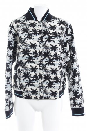 Esprit College Jacket floral pattern college style