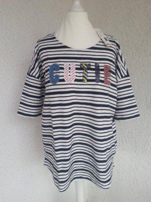 Esprit cooles Oversize Shirt mit Pailletten Gr.S/36 neu